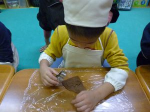 クッキー作りはみんな得意だよ