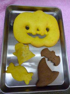 ハロウィンクッキー!