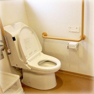 トイレは2カ所