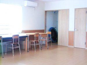 プレイルーム内の個室スペース。